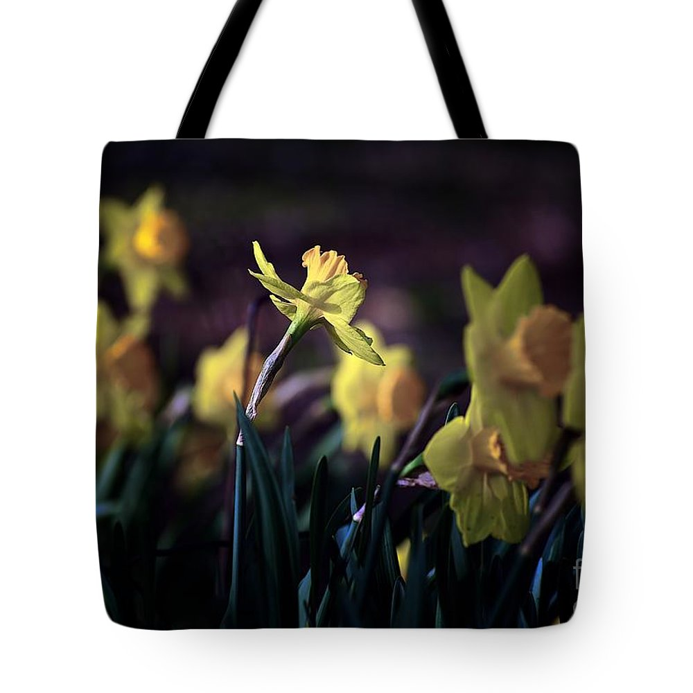 Flowers Tote Bag featuring the photograph Happiness by Frank J Casella