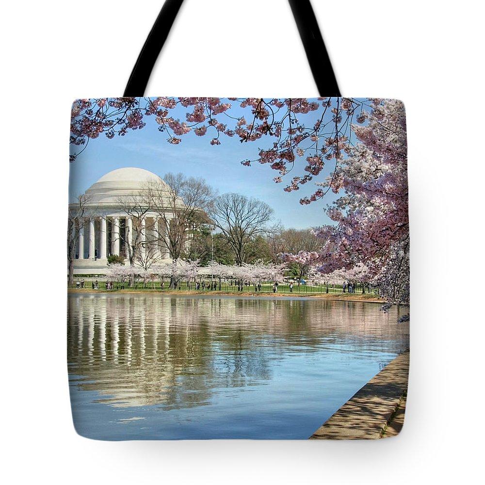 Jefferson Memorial Tote Bags