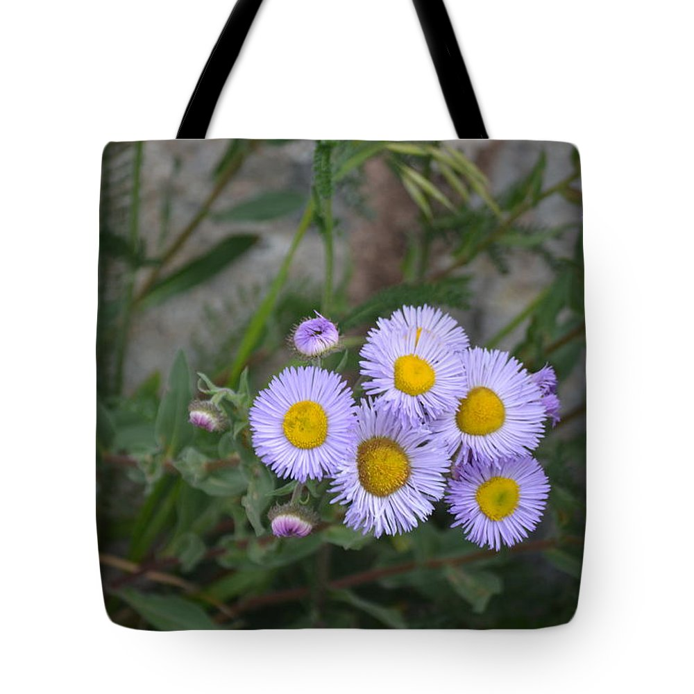 Flowers Tote Bag featuring the photograph Happy Days by Janice Sanborn