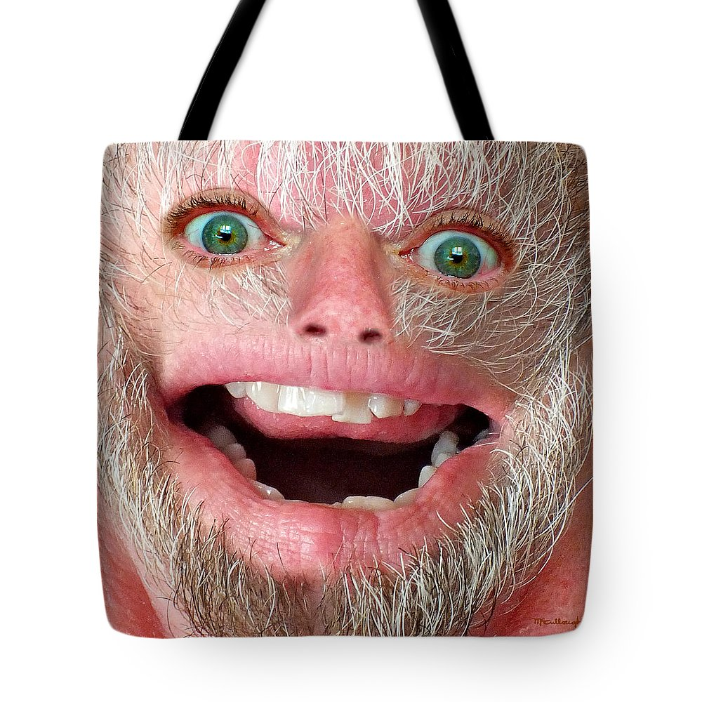 Harry Tote Bag featuring the photograph Happy Harry by Duane McCullough