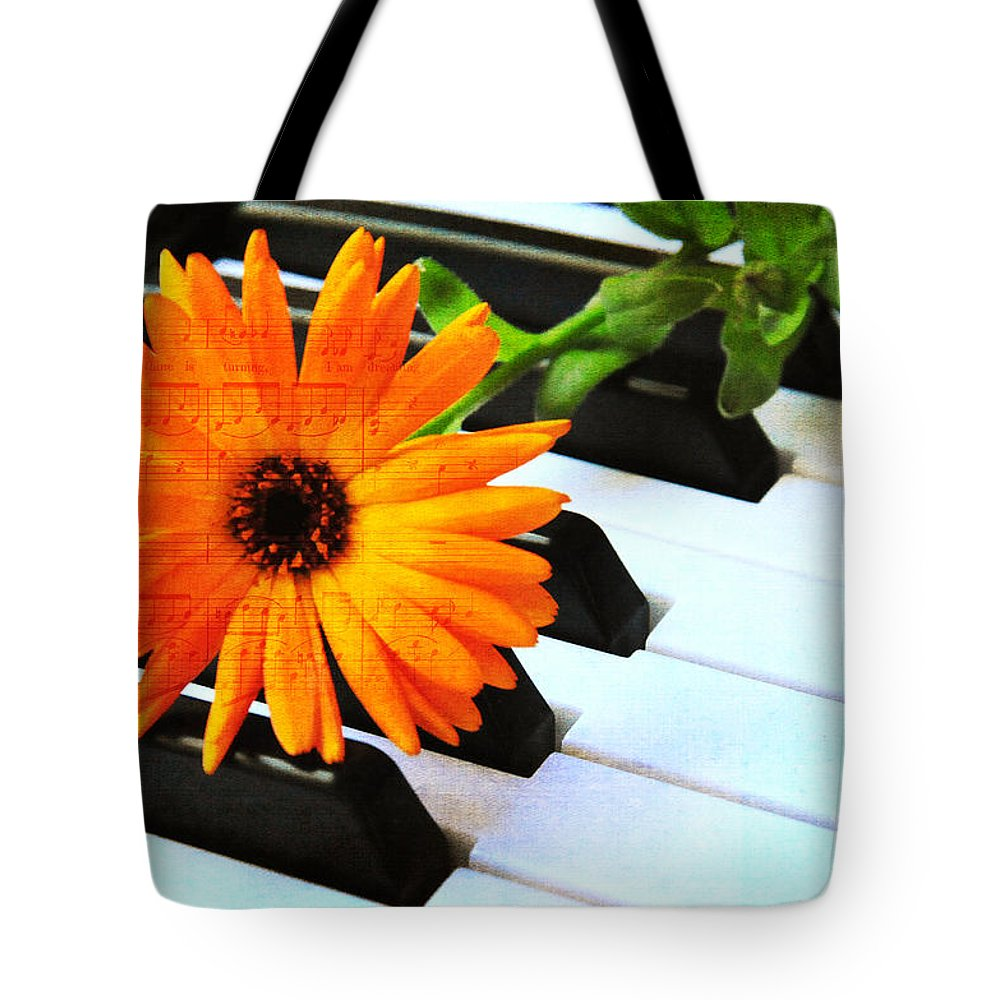 Music Tote Bag featuring the photograph Happy Music by Randi Grace Nilsberg