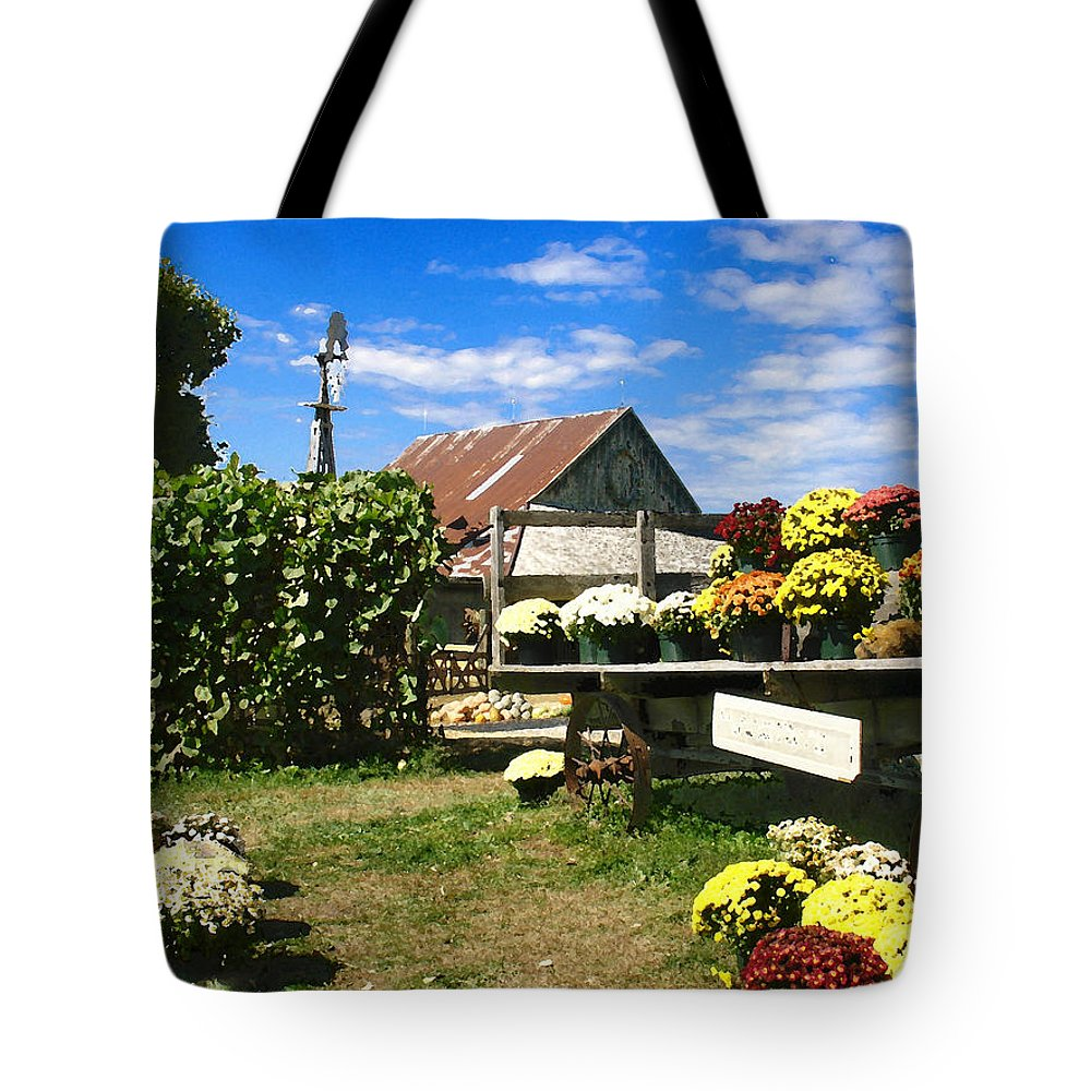 Farm Tote Bag featuring the photograph Happy Thanksgiving 2013 by Steve Karol