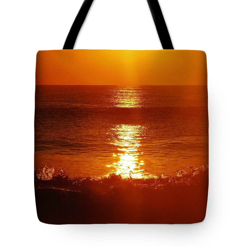 Mark Lemmon Cape Hatteras Nc The Outer Banks Photographer Subjects From Sunrise Tote Bag featuring the photograph Hatteras Island Sunrise 12 10/2 by Mark Lemmon