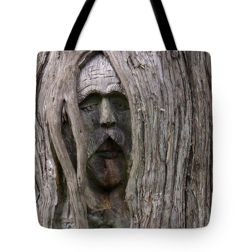 Hauntingly Tote Bag featuring the photograph Hauntingly by Maria Urso