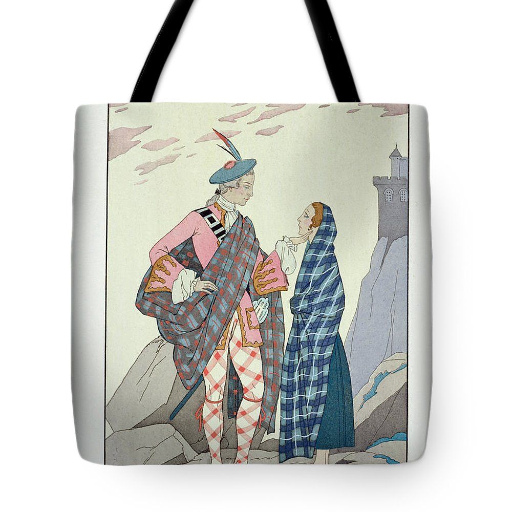 N'ayez Pas Peur Tote Bag featuring the painting Have No Fear Little One by Georges Barbier
