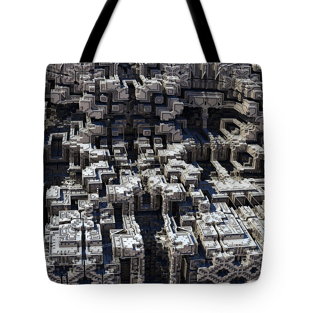 Fine Art Tote Bag featuring the photograph Haywire by Kevin Trow