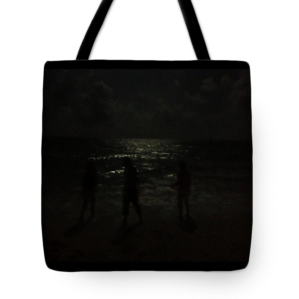 Beach Tote Bag featuring the photograph Hazy Memory... by Tim Fillingim