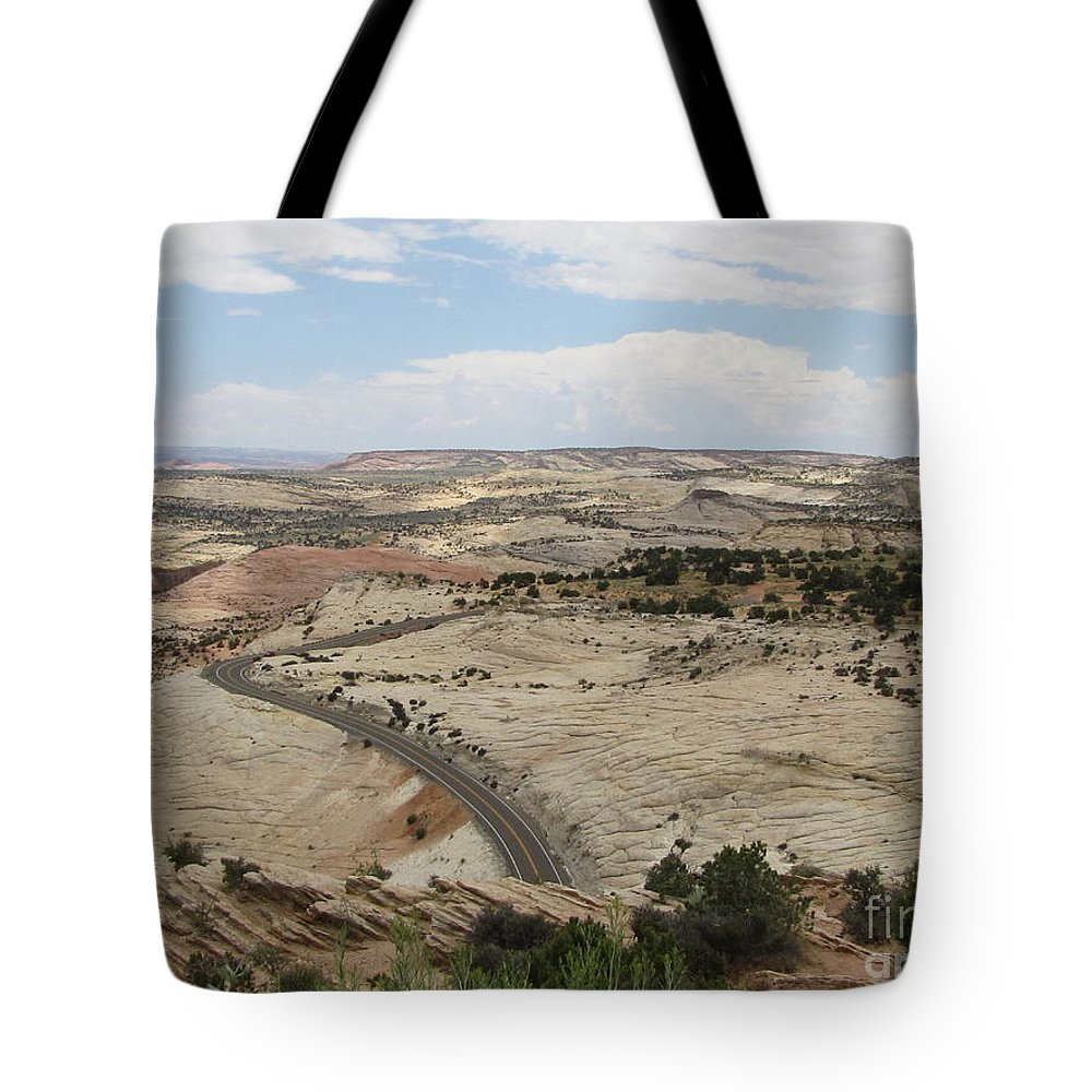 Utah Tote Bag featuring the photograph Head Of The Rocks - Scenic Byway 12 by Sheryl Young