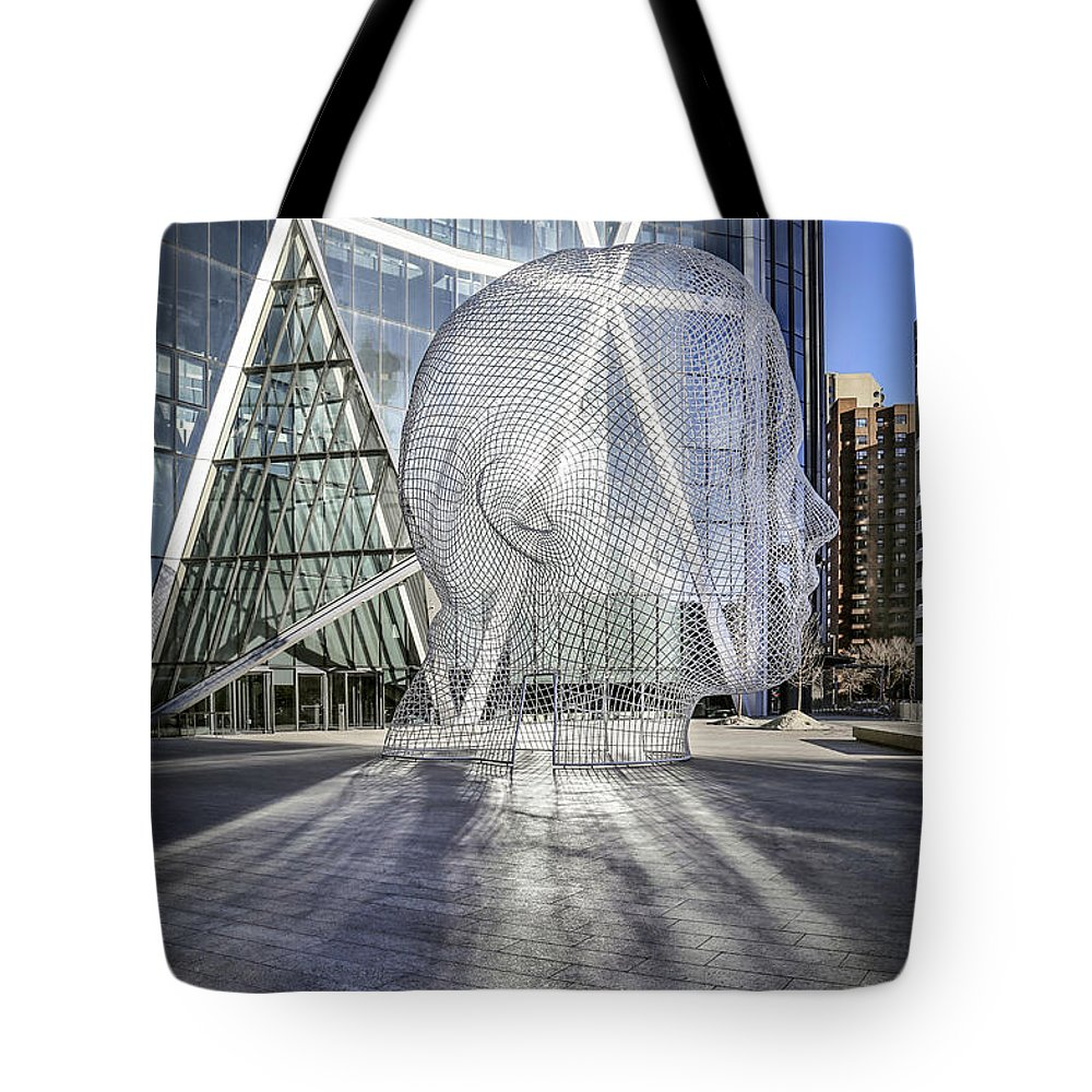 Head Tote Bag featuring the photograph Head Turner by Evelina Kremsdorf