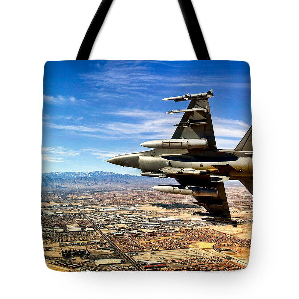Sky Tote Bag featuring the photograph Heading Home by Mountain Dreams