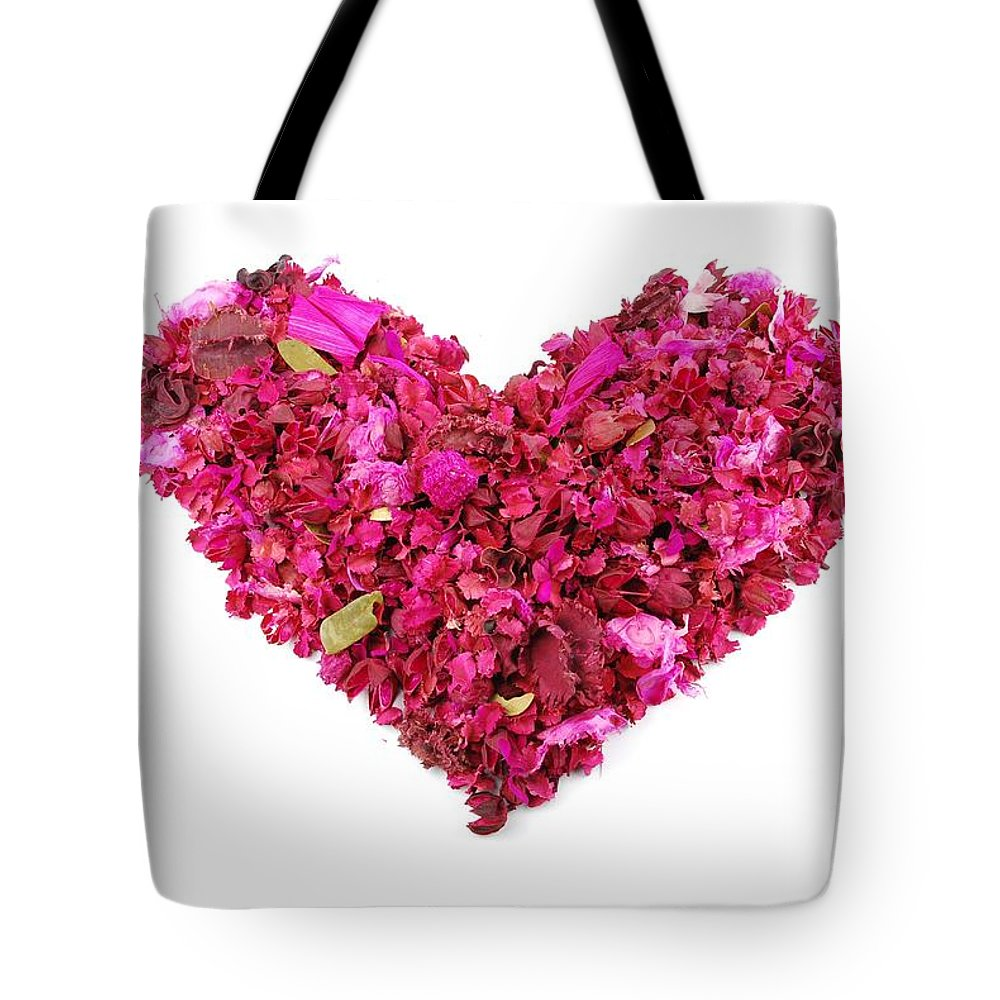Love Tote Bag featuring the photograph Heart by Luis Alvarenga