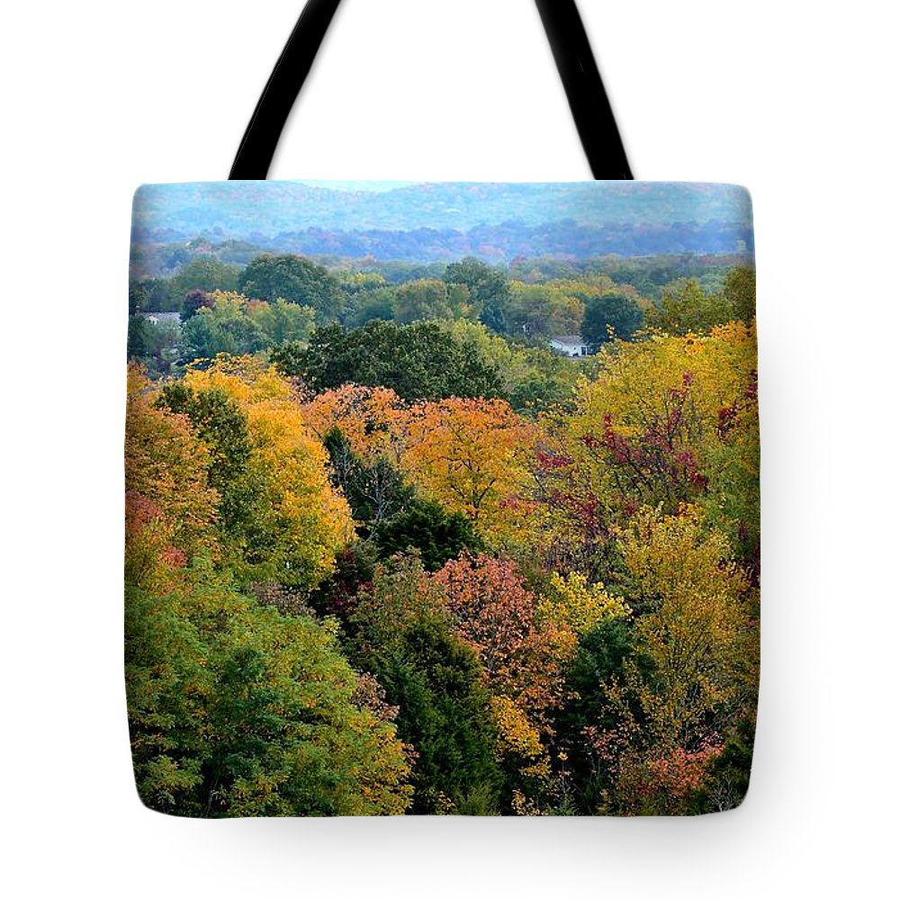 Landscape Tote Bag featuring the photograph Heart Of The Ozarks by Deena Stoddard