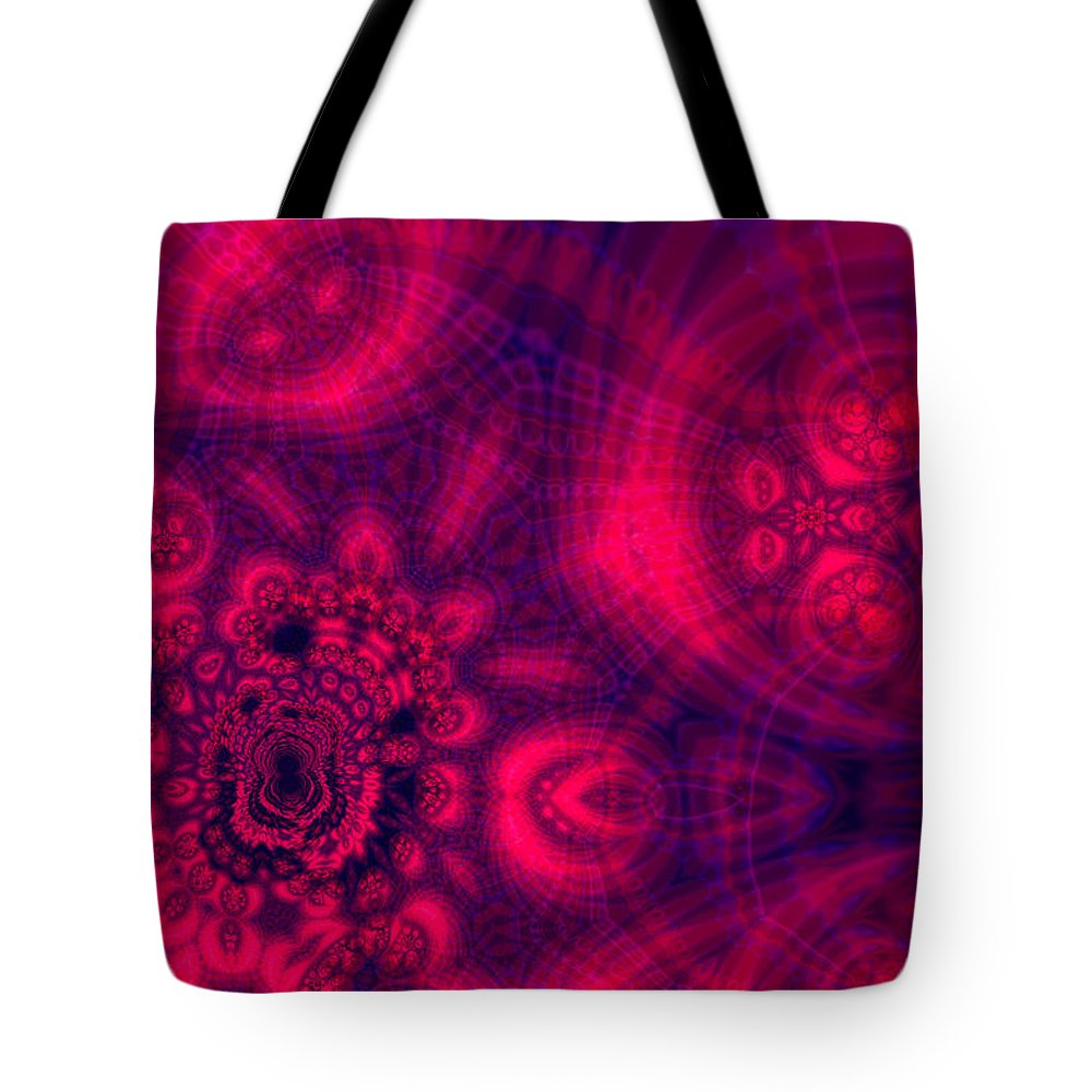 Decorative Tote Bag featuring the digital art Heartland by Ann Stretton