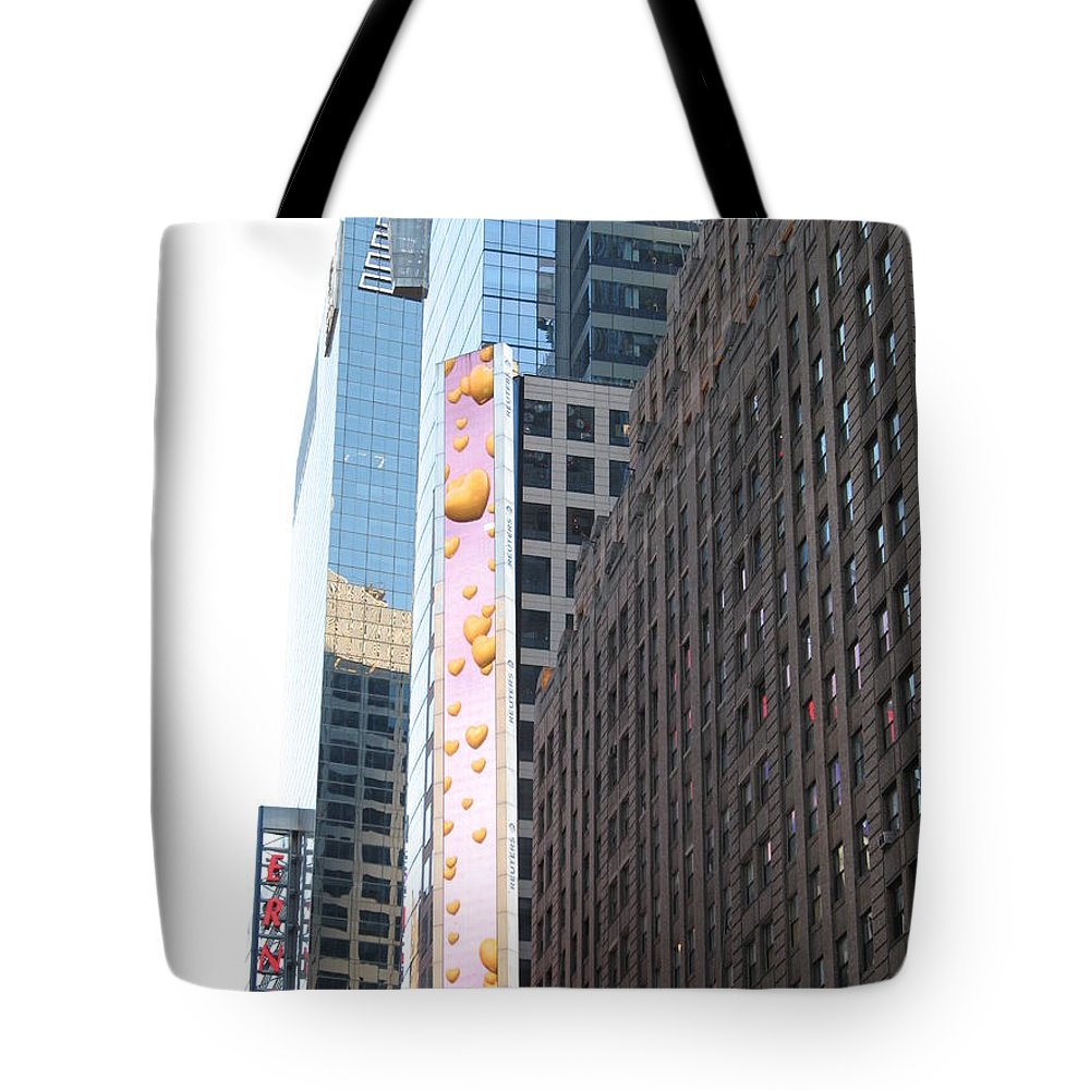 Hearts Tote Bag featuring the photograph Hearts On The Run by Christiane Schulze Art And Photography