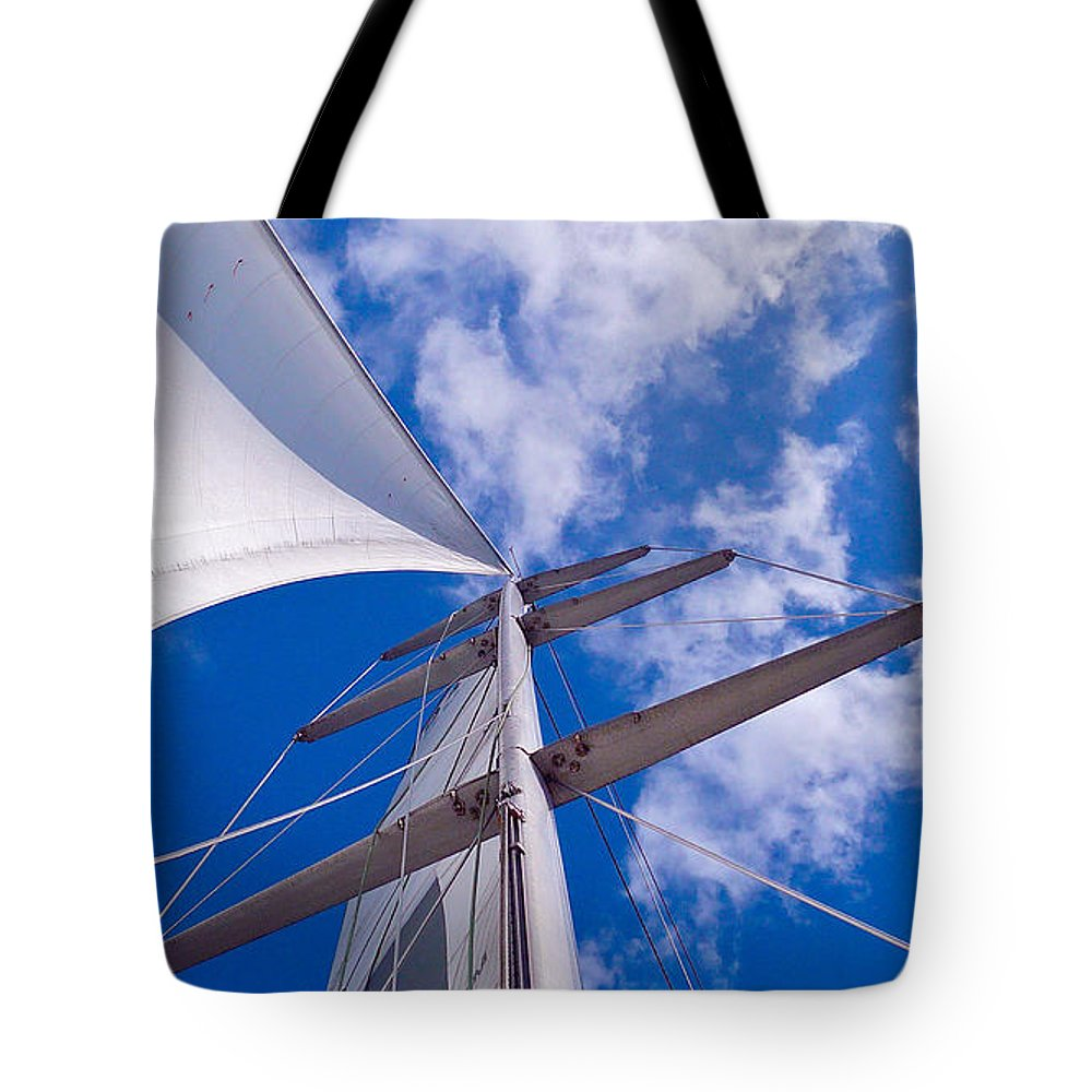 Sky Tote Bag featuring the photograph Heavenly Uncharted by Gem S Visionary