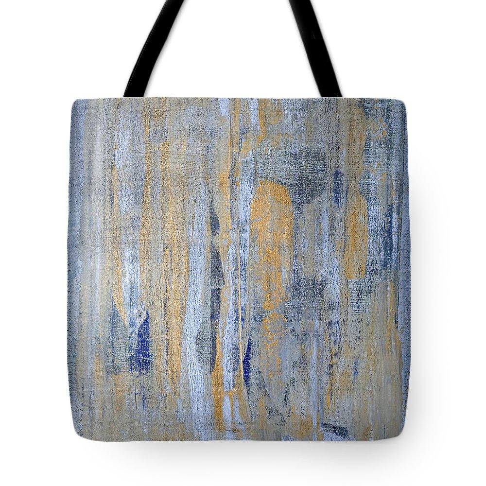Heaven Tote Bag featuring the painting Heaven's Gate 1 by Julie Niemela