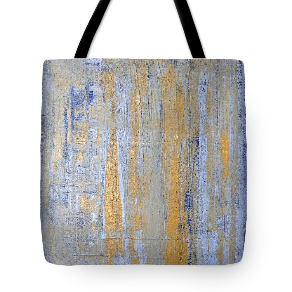 Heaven Tote Bag featuring the painting Heaven's Gate 2 by Julie Niemela