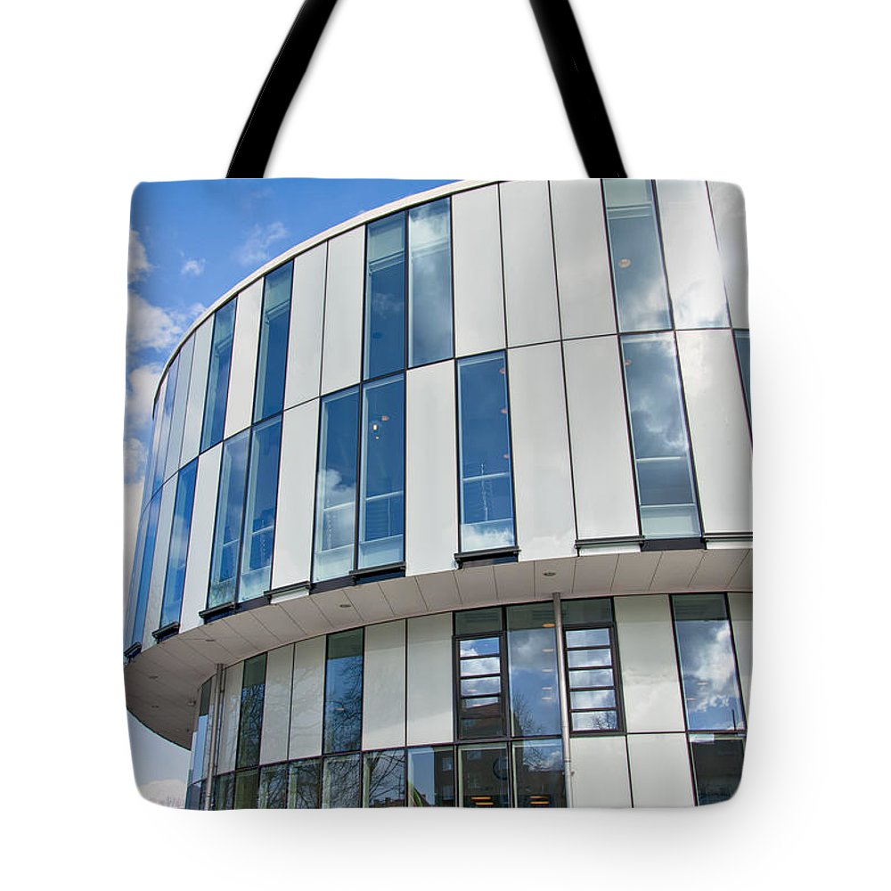 Helsingborg Tote Bag featuring the photograph Helsingborg Arena 04 by Antony McAulay