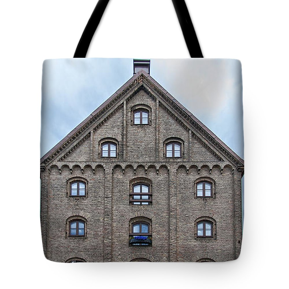 Sweden Tote Bag featuring the photograph Helsingborg Gamla Stan by Antony McAulay