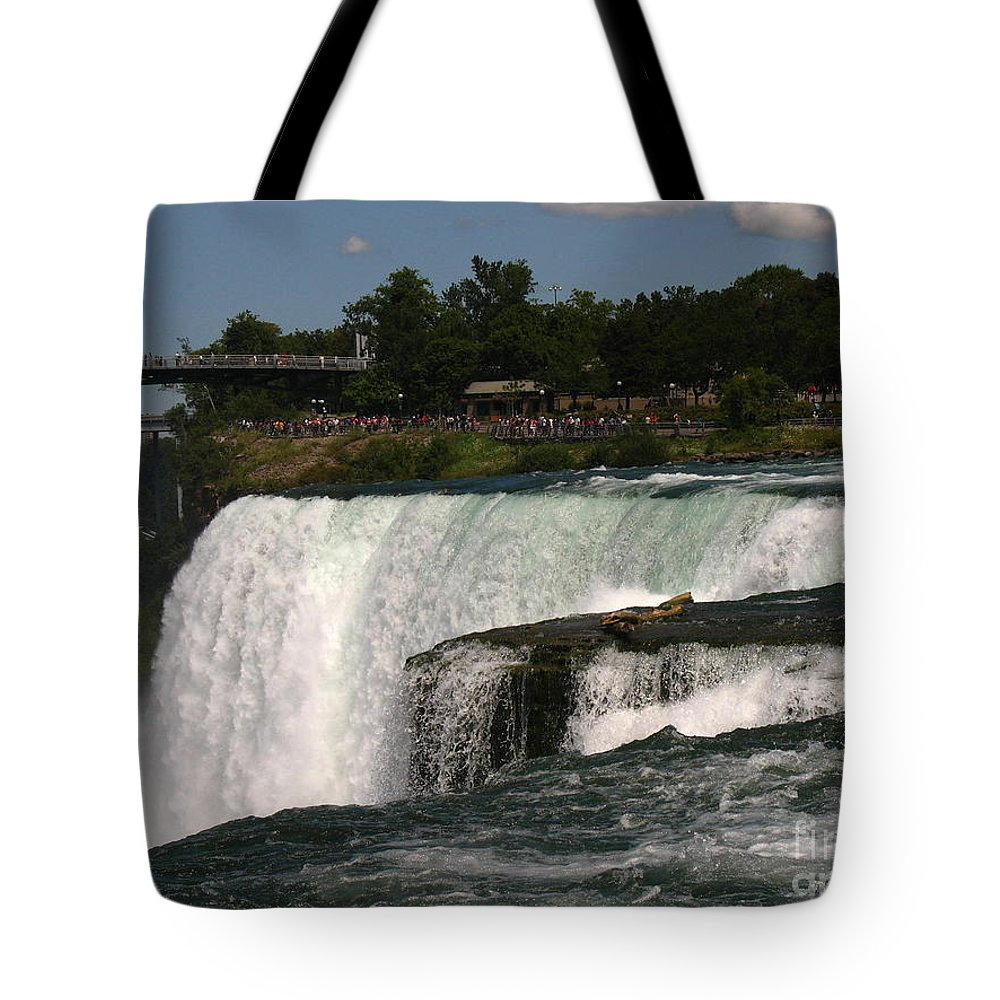 Waterfalls Tote Bag featuring the photograph Here We Go by Jeffery L Bowers