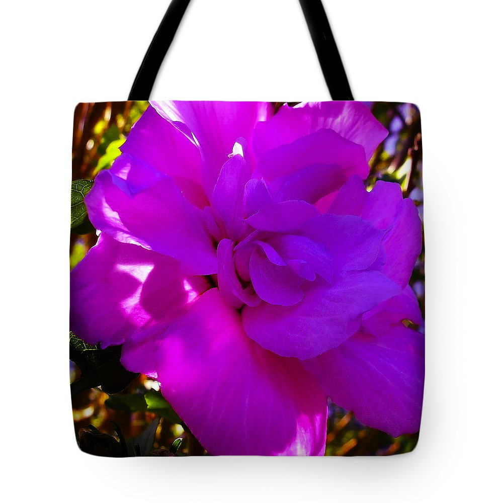 Hibiscus Tote Bag featuring the photograph Hibiscus 4 by Ingrid Smith-Johnsen
