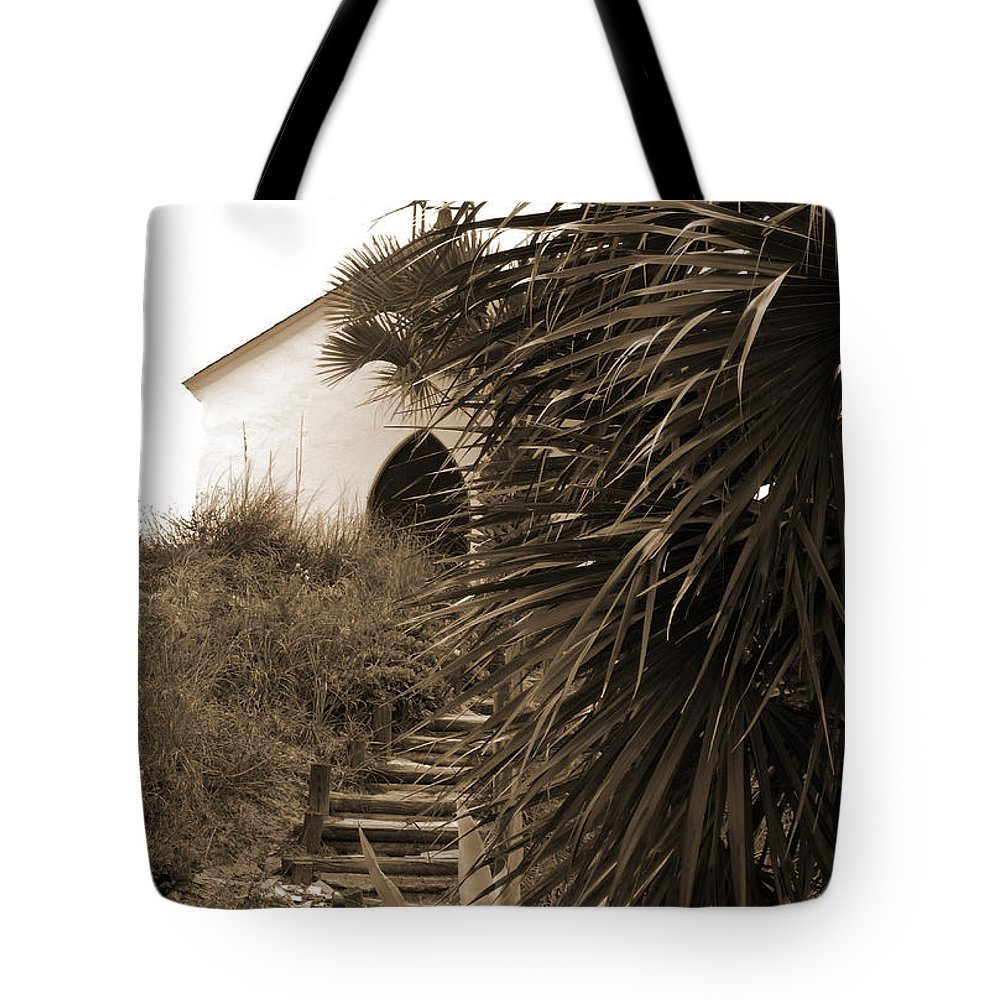 Chapel Tote Bag featuring the photograph Hidden Chapel by Anissia Hedrick