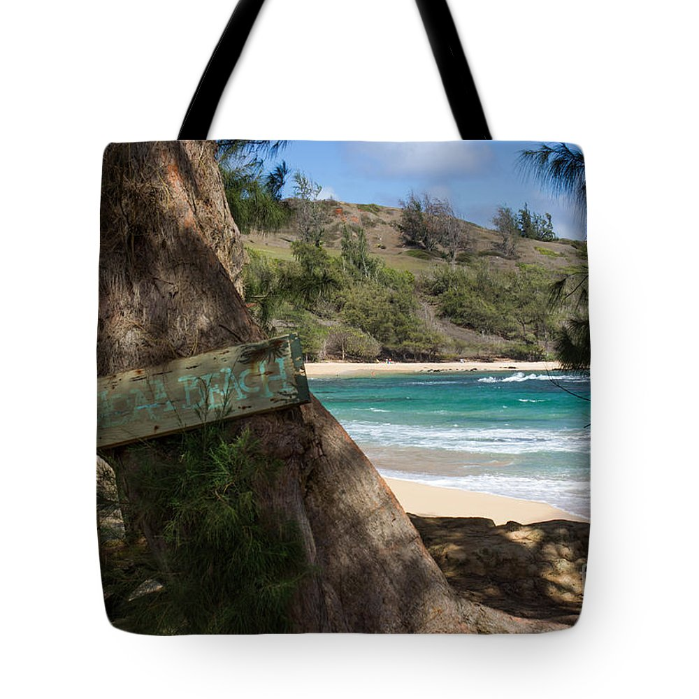 Kauai Tote Bag featuring the photograph Hidden Gem by Suzanne Luft