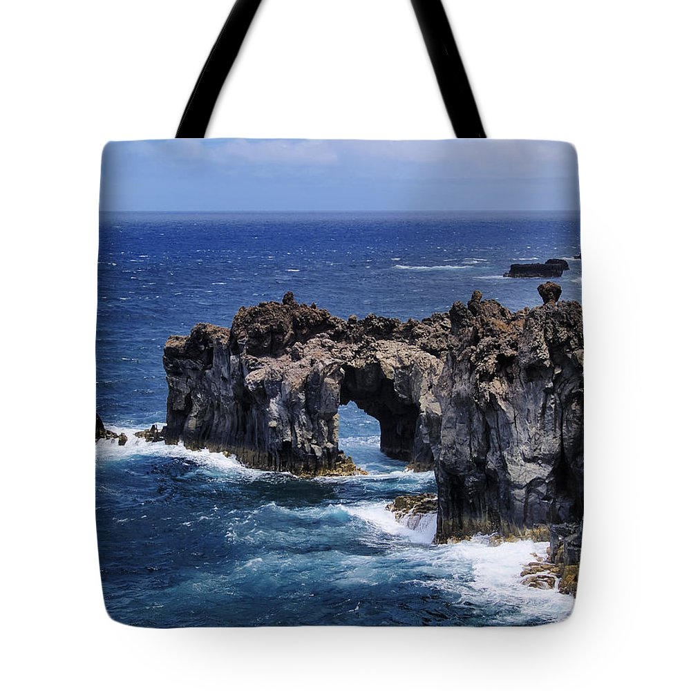 Rock Tote Bag featuring the photograph Hierro Coastline by Karol Kozlowski