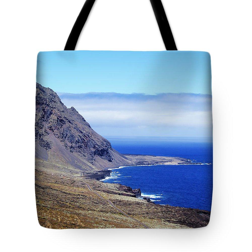 Mountain Tote Bag featuring the photograph Hierro Landscape by Karol Kozlowski