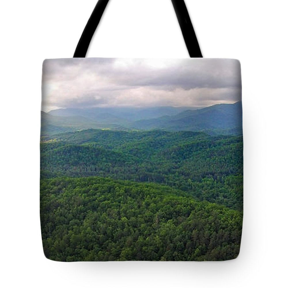 High Country Tote Bag featuring the photograph High Country 3 In Wnc by Duane McCullough