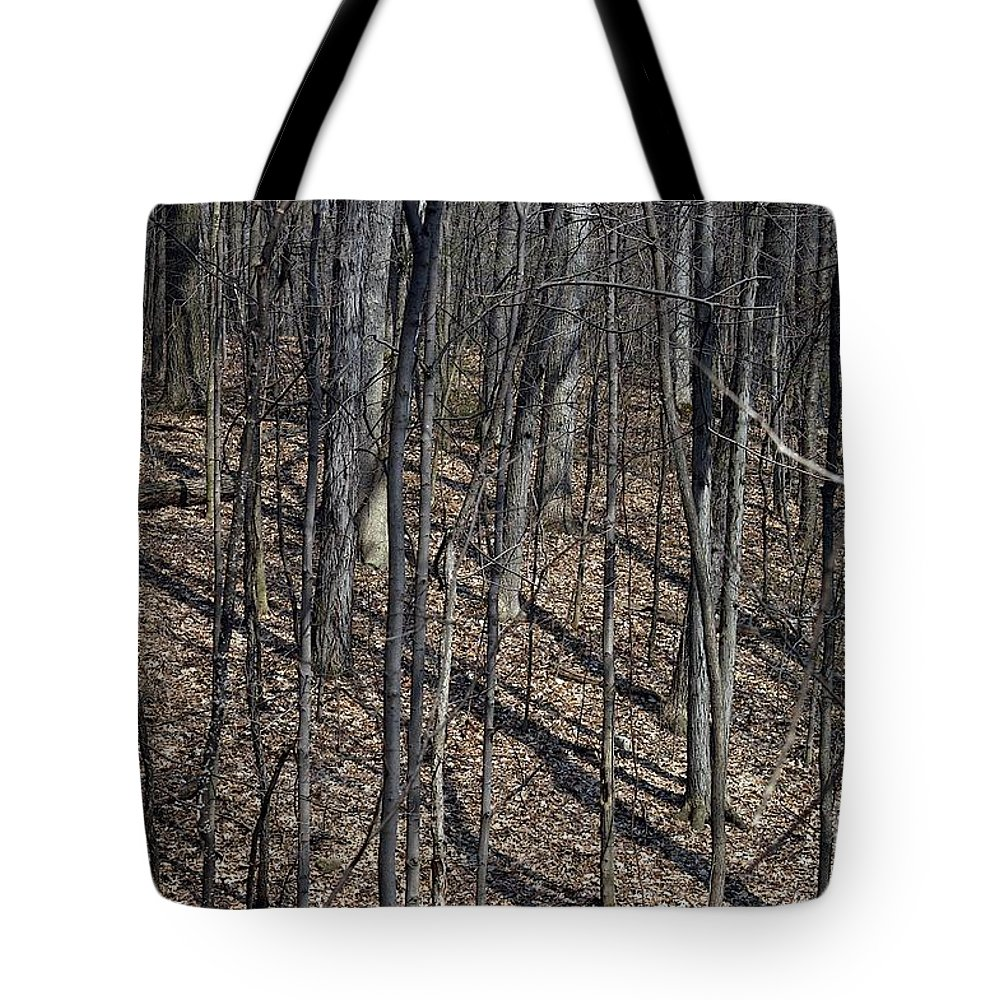 Forest Floor Tote Bag featuring the photograph High Ground by Joseph Yarbrough