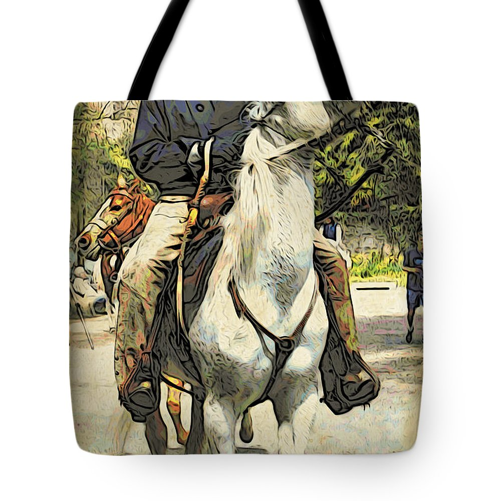 Horse Tote Bag featuring the photograph High Horse by Alice Gipson
