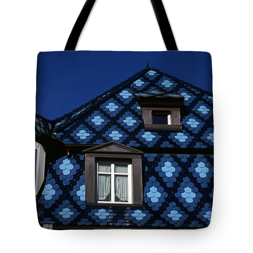 Photography Tote Bag featuring the photograph High Section View Of A House, Germany by Panoramic Images