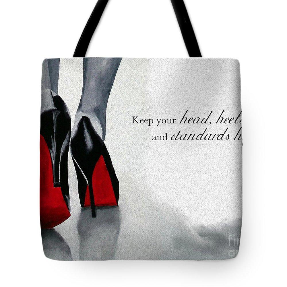 68542a67e1f High Standards Tote Bag