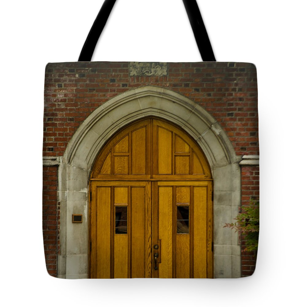 Doors Tote Bag featuring the photograph Higher Doors by Tikvah's Hope