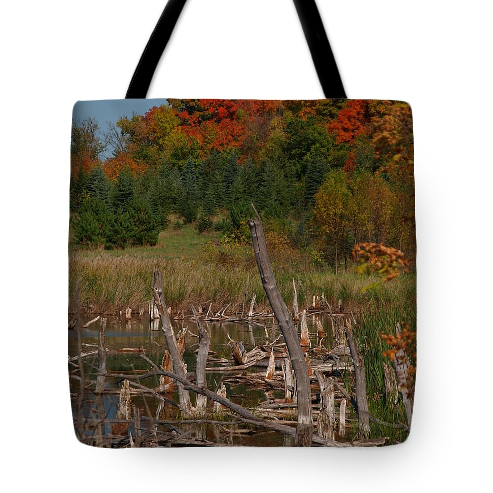 James Tote Bag featuring the photograph Highway 27 by James Peterson