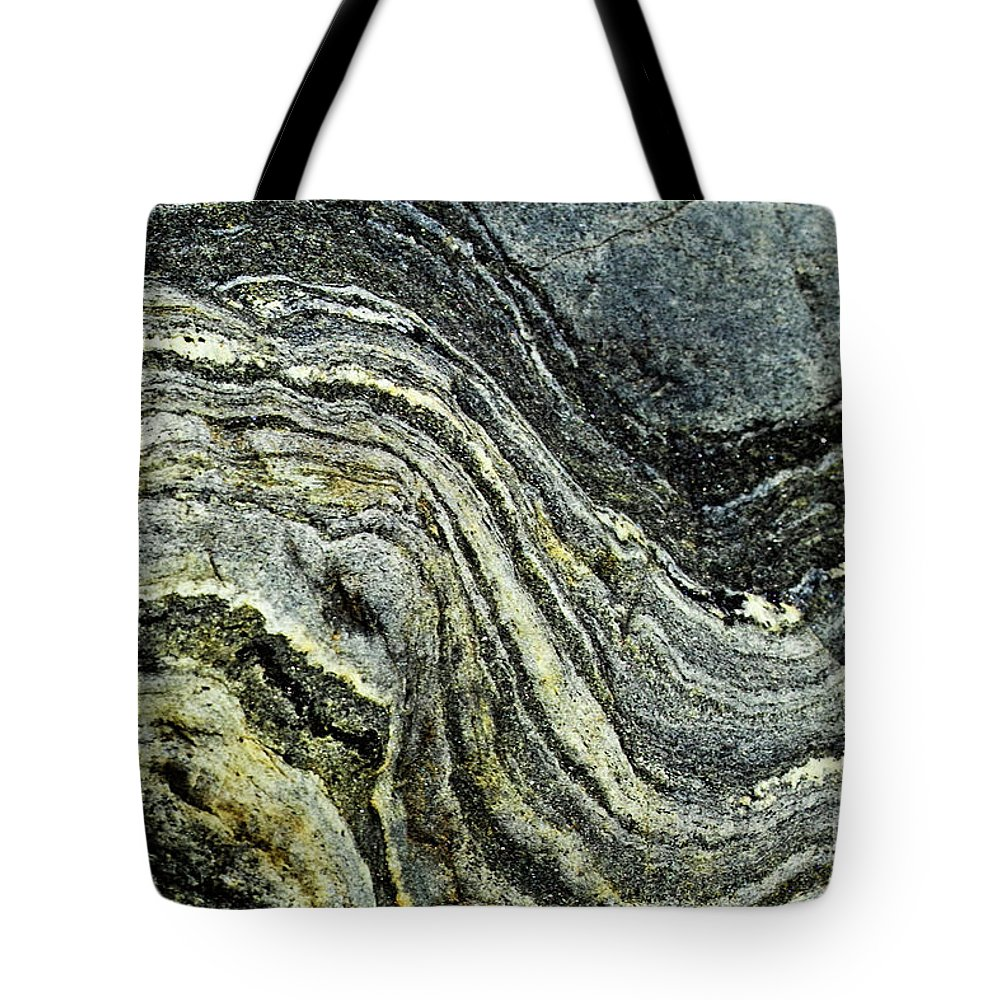 Stone Tote Bag featuring the photograph History Of Earth 9 by Heiko Koehrer-Wagner