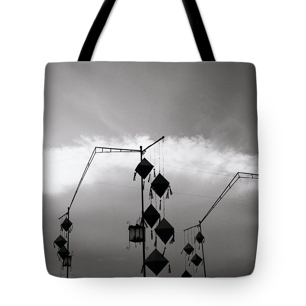Hoi An Tote Bag featuring the photograph Hoi An Lanterns by Shaun Higson