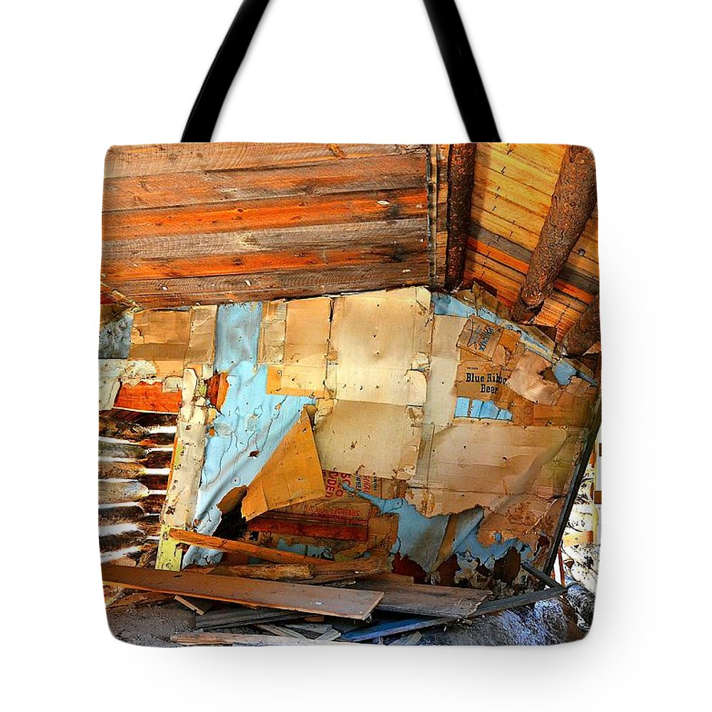 Abstract Tote Bag featuring the photograph Holding It Together by Lauren Leigh Hunter Fine Art Photography