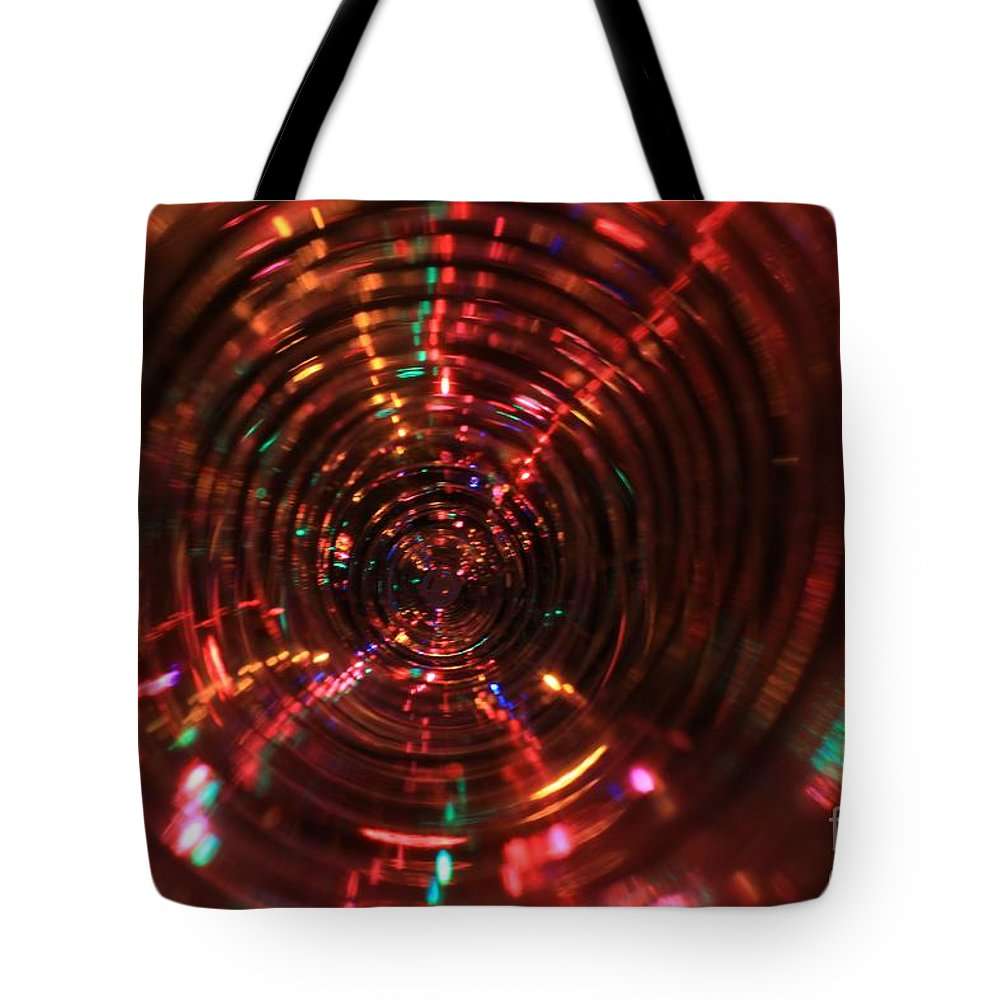Lights Tote Bag featuring the photograph Holiday Sparkle All Profits Go To Hospice Of The Calumet Area Munster Indiana by Joanne Markiewicz