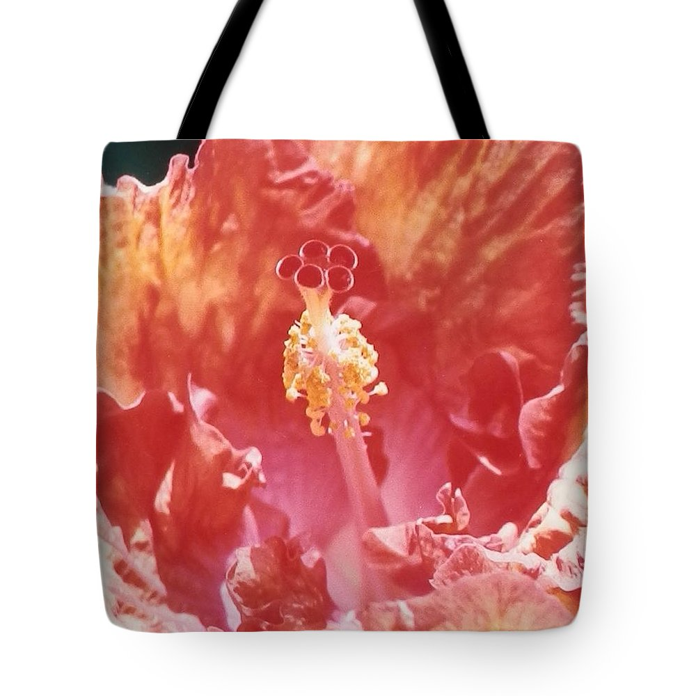 Giant Tote Bag featuring the photograph Hollywood Hibiscus Beauty by Belinda Lee