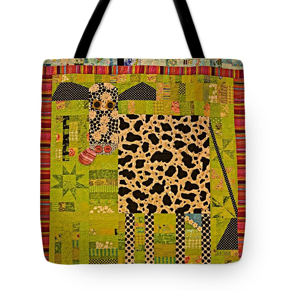 Idaho Falls Tote Bag featuring the photograph Holy Cow by Image Takers Photography LLC - Carol Haddon