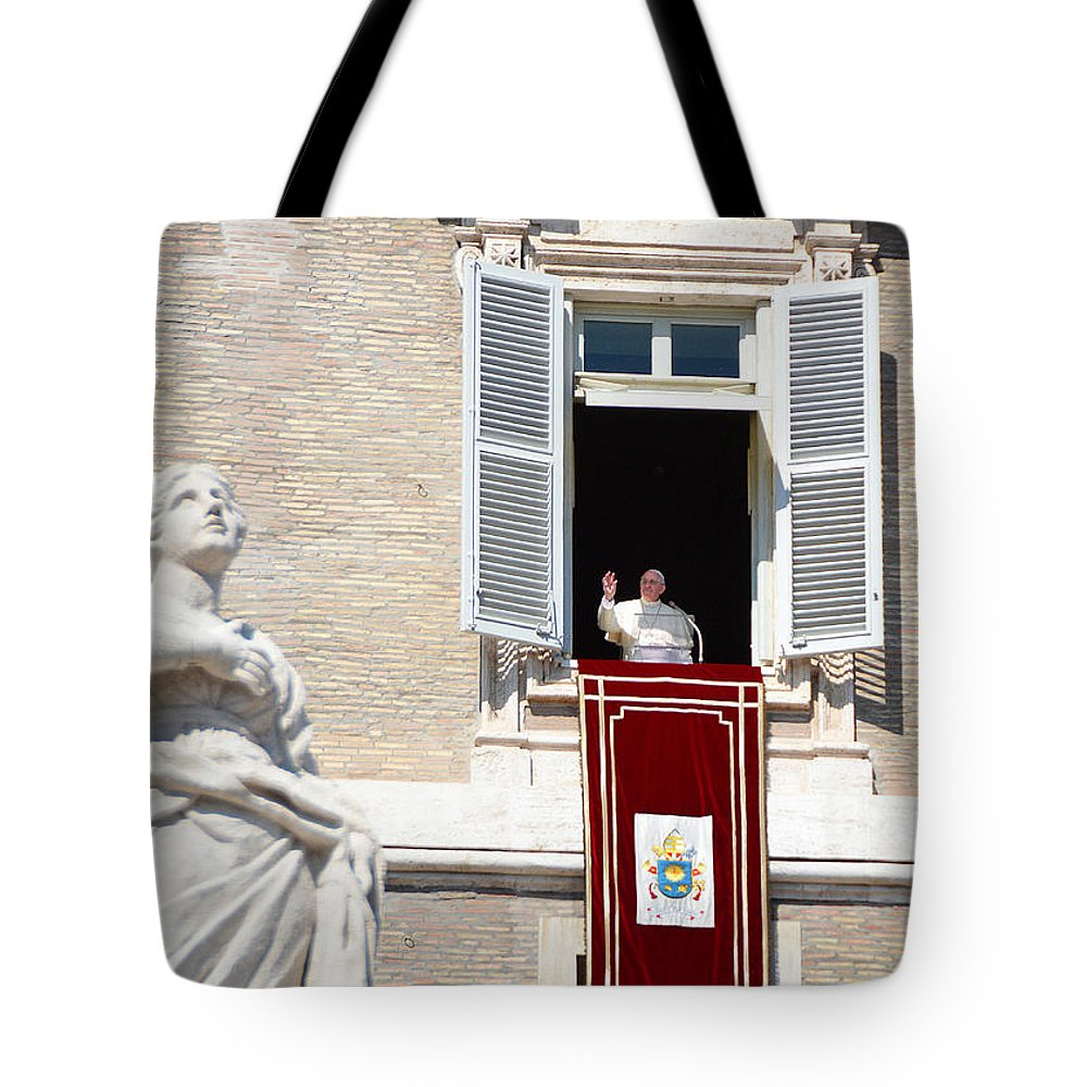 Father Tote Bag featuring the photograph Holy Father by Maggie Magee Molino