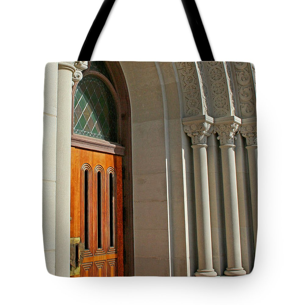 Holy Hill Tote Bag featuring the photograph Holy Hill 4 by Susan McMenamin