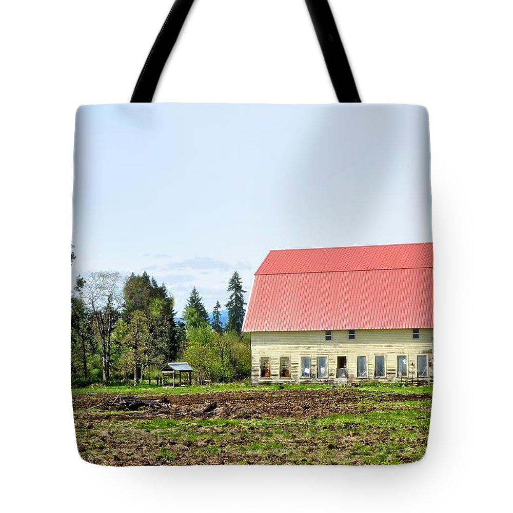 Hood River Tote Bag featuring the photograph Hood River by Image Takers Photography LLC