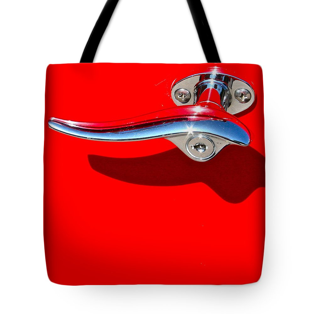 Photograph Tote Bag featuring the photograph Hop In by Gwyn Newcombe