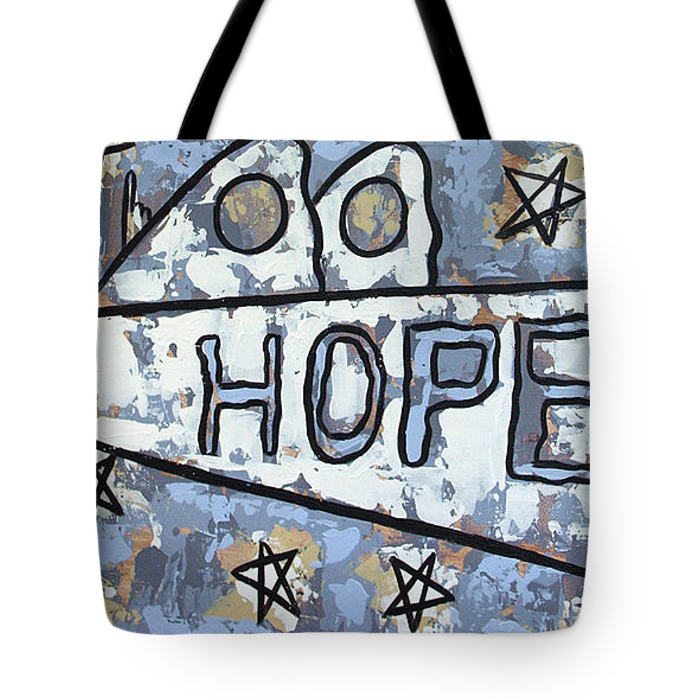 Hope Tote Bag featuring the painting Hope by Anthony Falbo