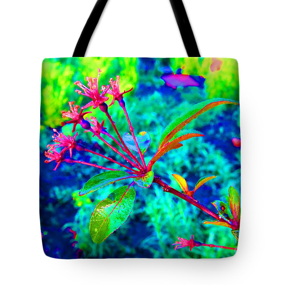 Flower Tote Bag featuring the photograph Hope by Tina M Wenger