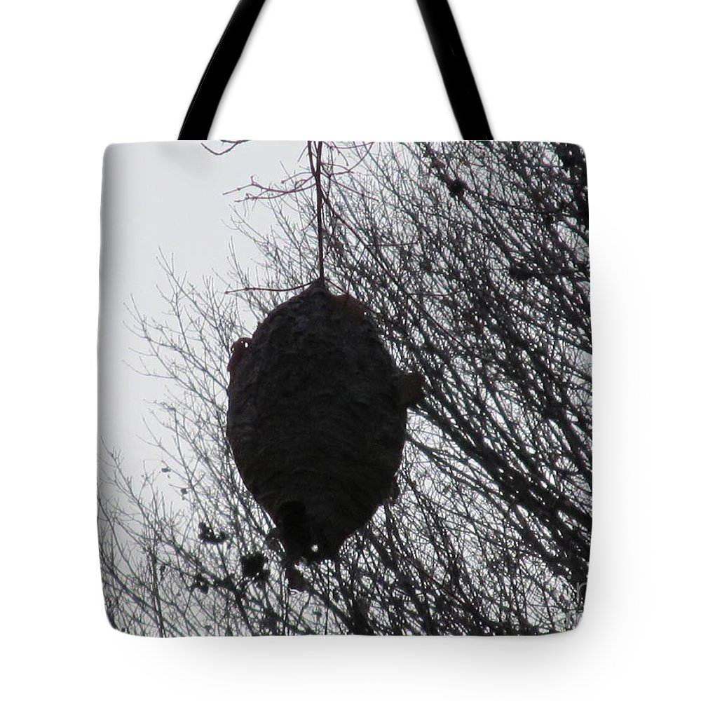 Hornet Tote Bag featuring the photograph Hornets Nest West by Tina M Wenger