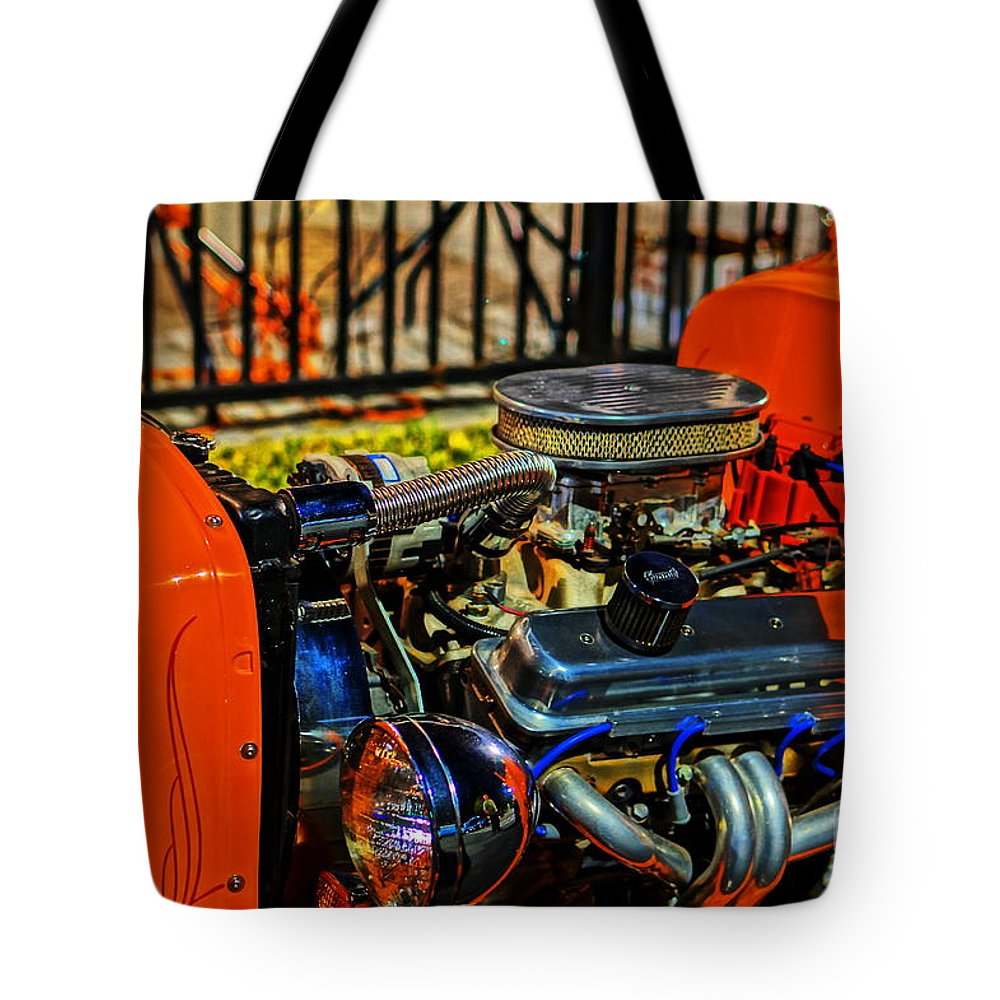 Tote Bag featuring the photograph Horsepower 2 by Ronald Chacon